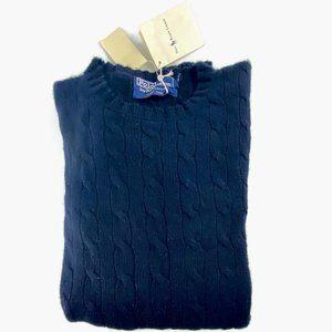 SOLD! Polo Ralph Lauren XL Blue Cashmere Sweater